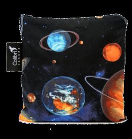 Colibri Reusable Snack Bag Large, Space