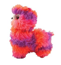 Fashion Angels Alpaca Plush, Small, Neon Pink, Peach & Purple