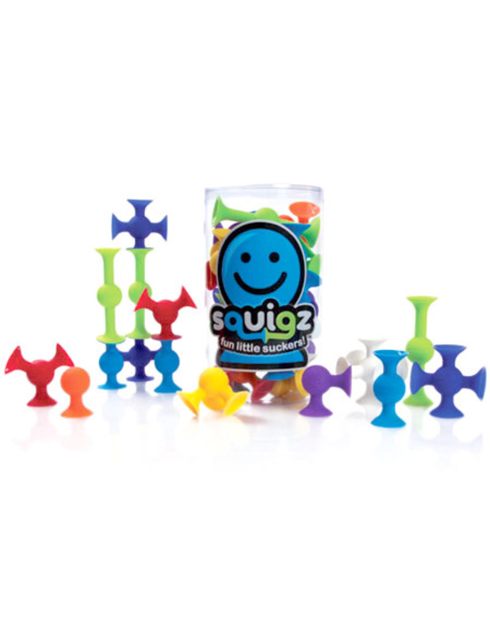 Fat Brain Toy Co. Squigz, Starter Set, 24 pcs