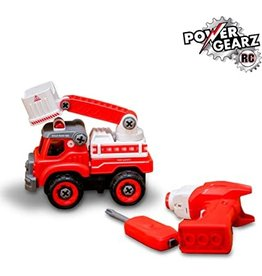 Flybar Power Driver Rescue Squad Ladder Truck RC
