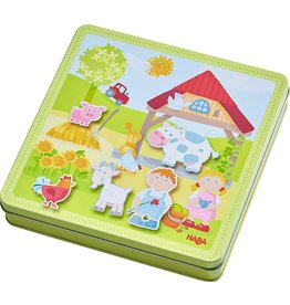 Haba Magnetic Game Box Peter and Pauline's Farm