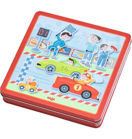 Haba Magnetic Game Box, Zippy Cars