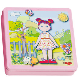 Haba Dress Up Doll Lilli Magnetic Game