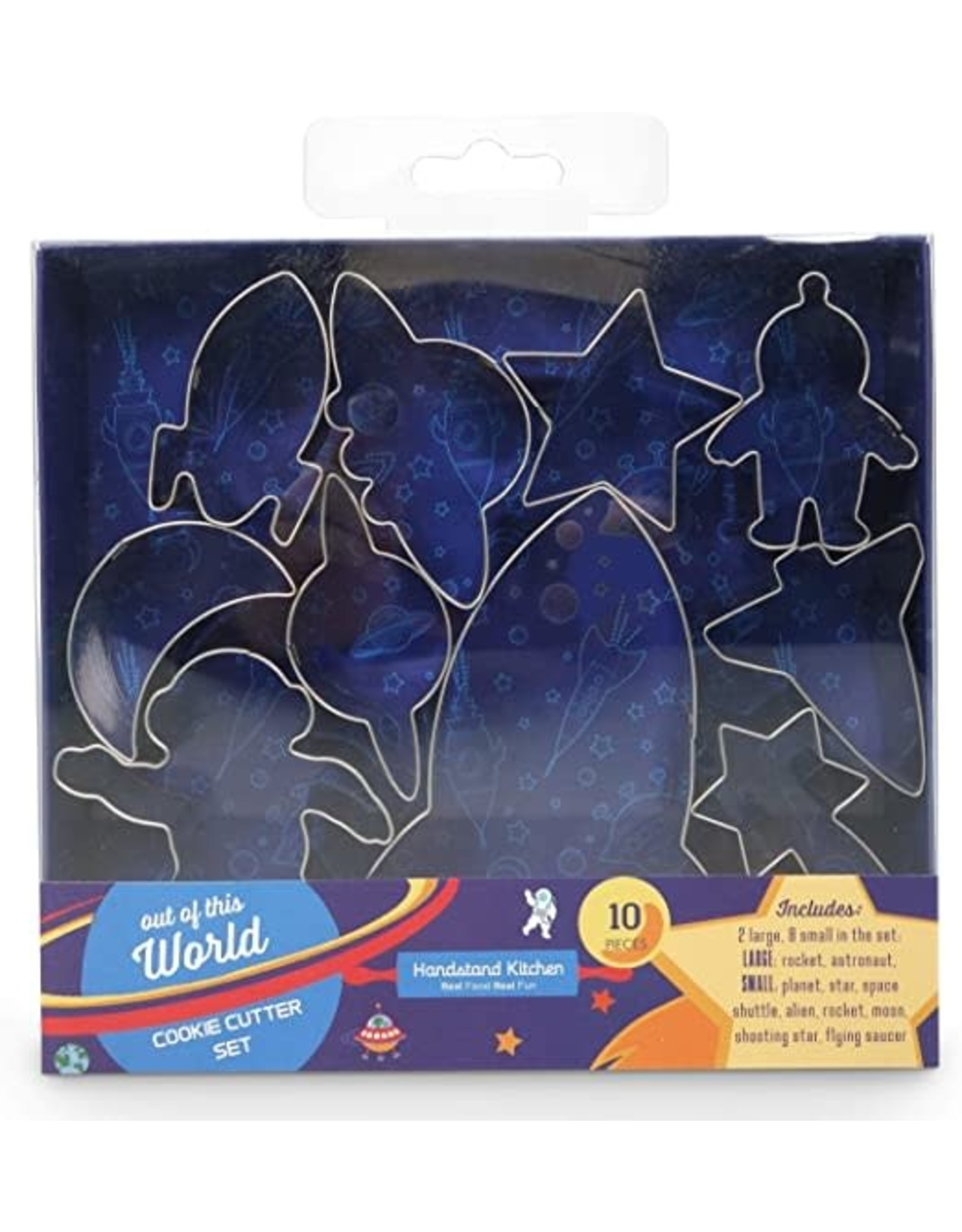 Handstand Kitchen Out of This World Cookie Cutter, 10 Piece Set
