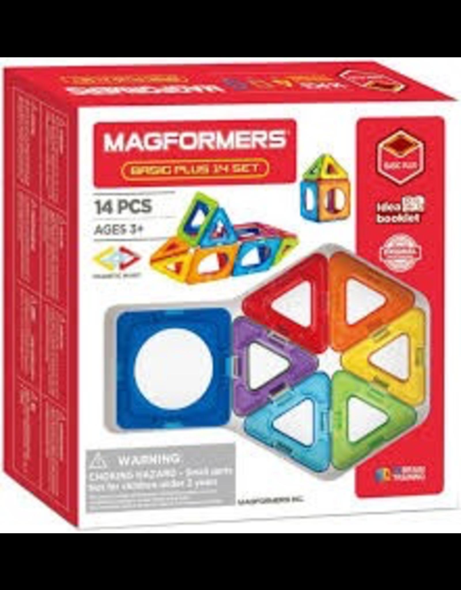 Magformers Magformers, Basic Plus, 14 pcs