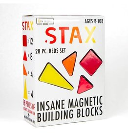 On Trend Goods Stax, Reds, 28 pcs