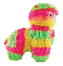 Fashion Angels Alpaca Plush, Large, Neon Yellow, Green & Pink
