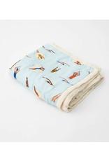 Little Unicorn, LLC Deluxe Muslin Baby Quilt, Swim Cap