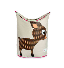 3 Sprouts Laundry Hamper, Brown Deer