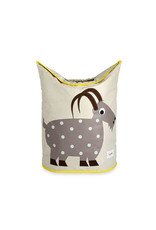 3 Sprouts Laundry Hamper, Grey Goat