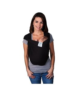 Baby K'Tan Baby K'Tan Solid Cotton Carrier Black (S)