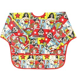 Bumkins Bumkins Sleeve Bib - Wonder Woman