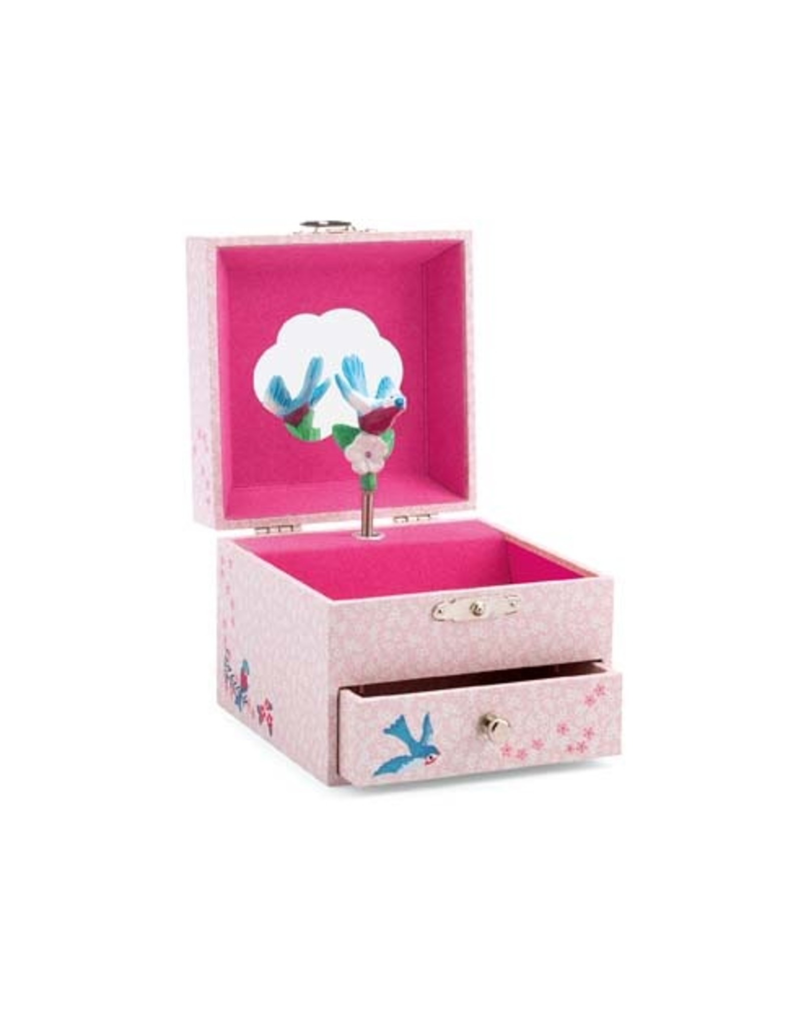 Djeco Music Box/Jewelry Box, Finch's Melody
