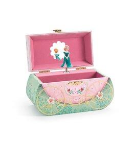 Djeco Music Box/Jewelry Box, Carriage Ride