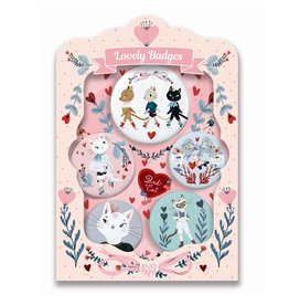 Djeco Lovely Badges, Cats