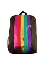 Fashion Angels Rainbow Sequin Stripe Backpack