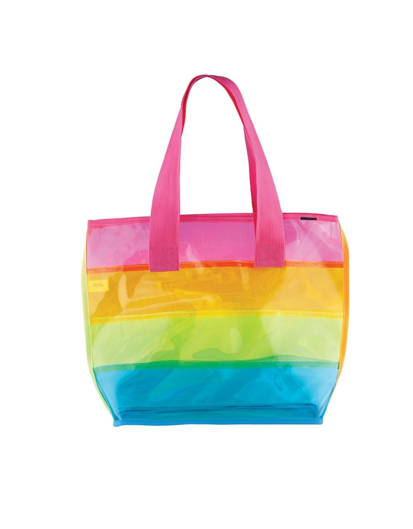 Fashion Angels Transparent Rainbow Tote