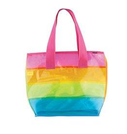 Fashion Angels Transparent Rainbow Tote
