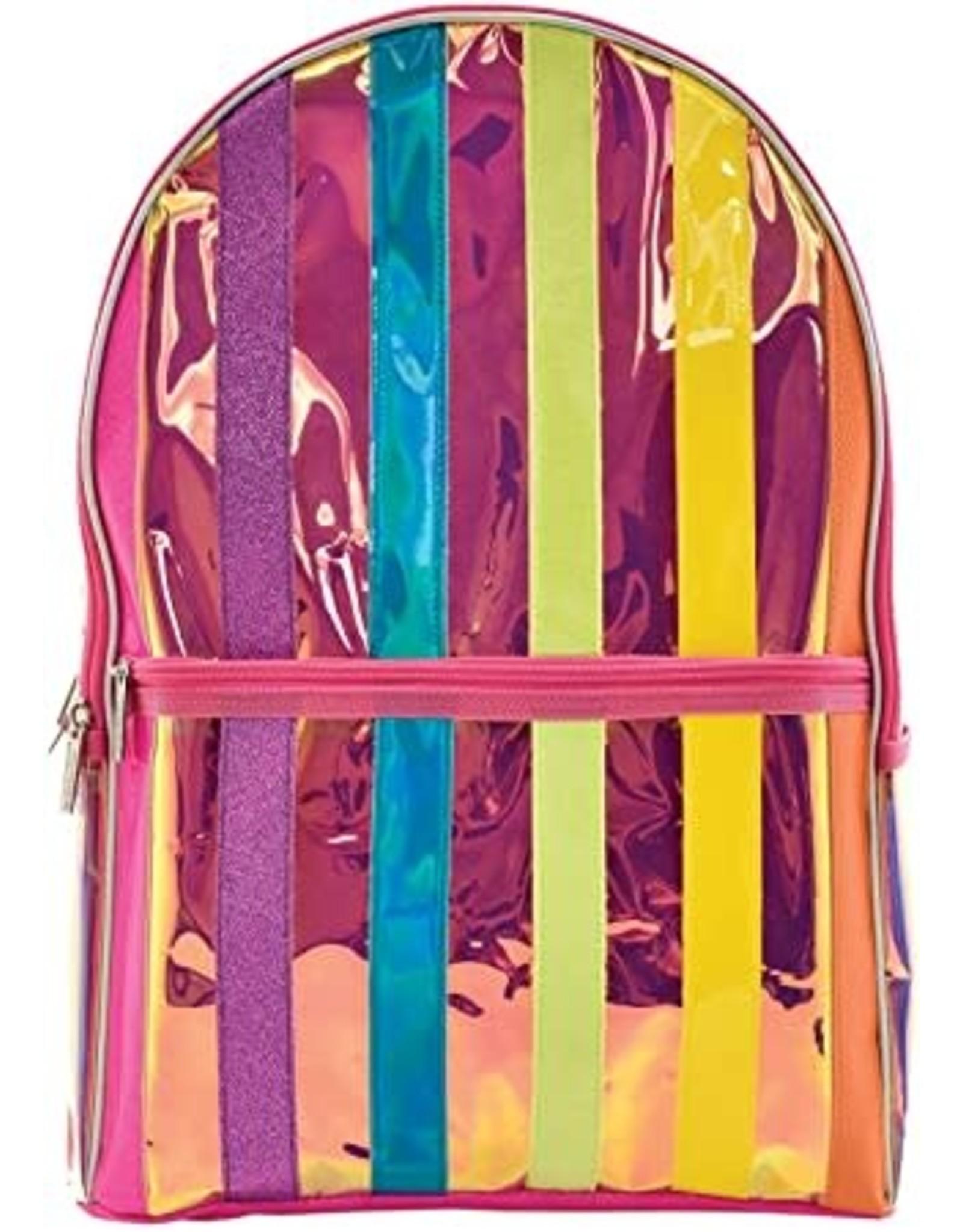 Iscream Backpack, Iridescent Stripe