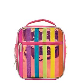 Iscream Lunch Tote, Iridescent Stripe