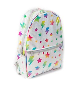 Iscream Backpack, Stars & Lightning Glitter