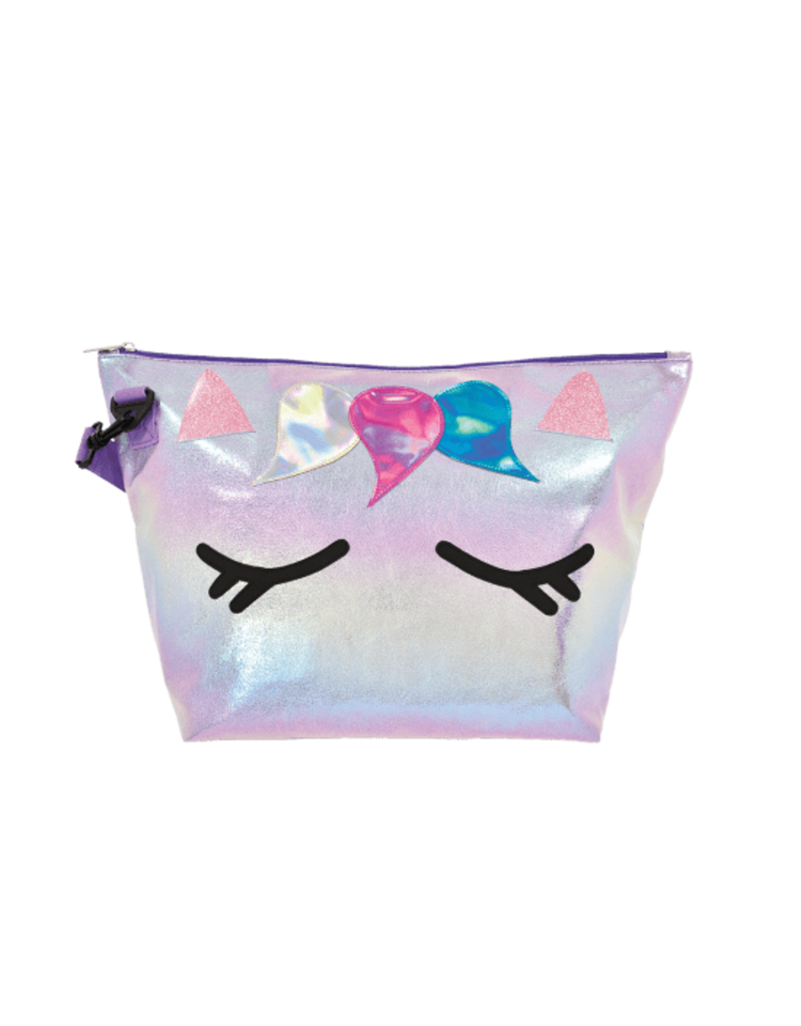 Iscream Overnight Bag, Unicorn Iridescent