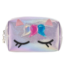 Iscream Cosmetic Bag, Unicorn Iridescent