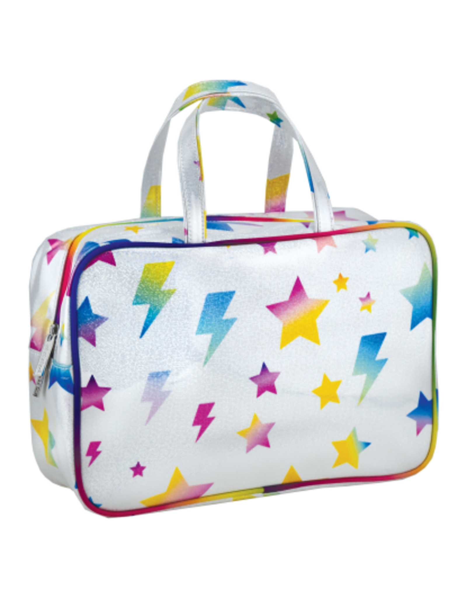 Iscream Cosmetic Bag, Lightning Bolt and Stars, Large