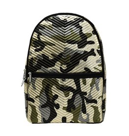 Iscream Backpack, Metallic Camo Chevron