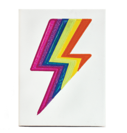 Iscream Journal, Lightning Bolt Holographic