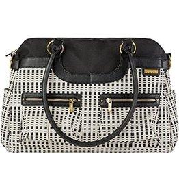 JJ Cole Satchel Bag, Black & Cream