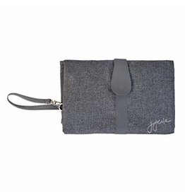 JJ Cole Changing Clutch, Heather Grey