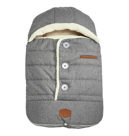 JJ Cole Urban Bundle Me Infant, Heathered Grey