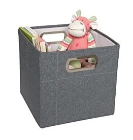 JJ Cole JJ Cole Storage Box 11in, Slate Heather (TALL)