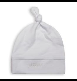 Juddlies Juddlies Newborn Hat, White/Grey