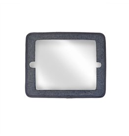JJ Cole 2 in 1 Mirror, Gray Heather