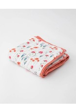 Little Unicorn, LLC Cotton Muslin Baby Quilt, Wild Mums