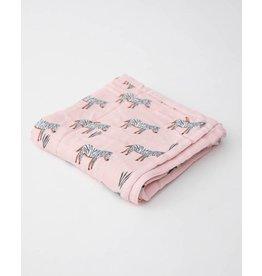 Little Unicorn, LLC Deluxe Muslin Baby Quilt, Zebra
