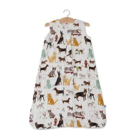 Little Unicorn, LLC Cotton Muslin Sleep Bag Medium, Woof