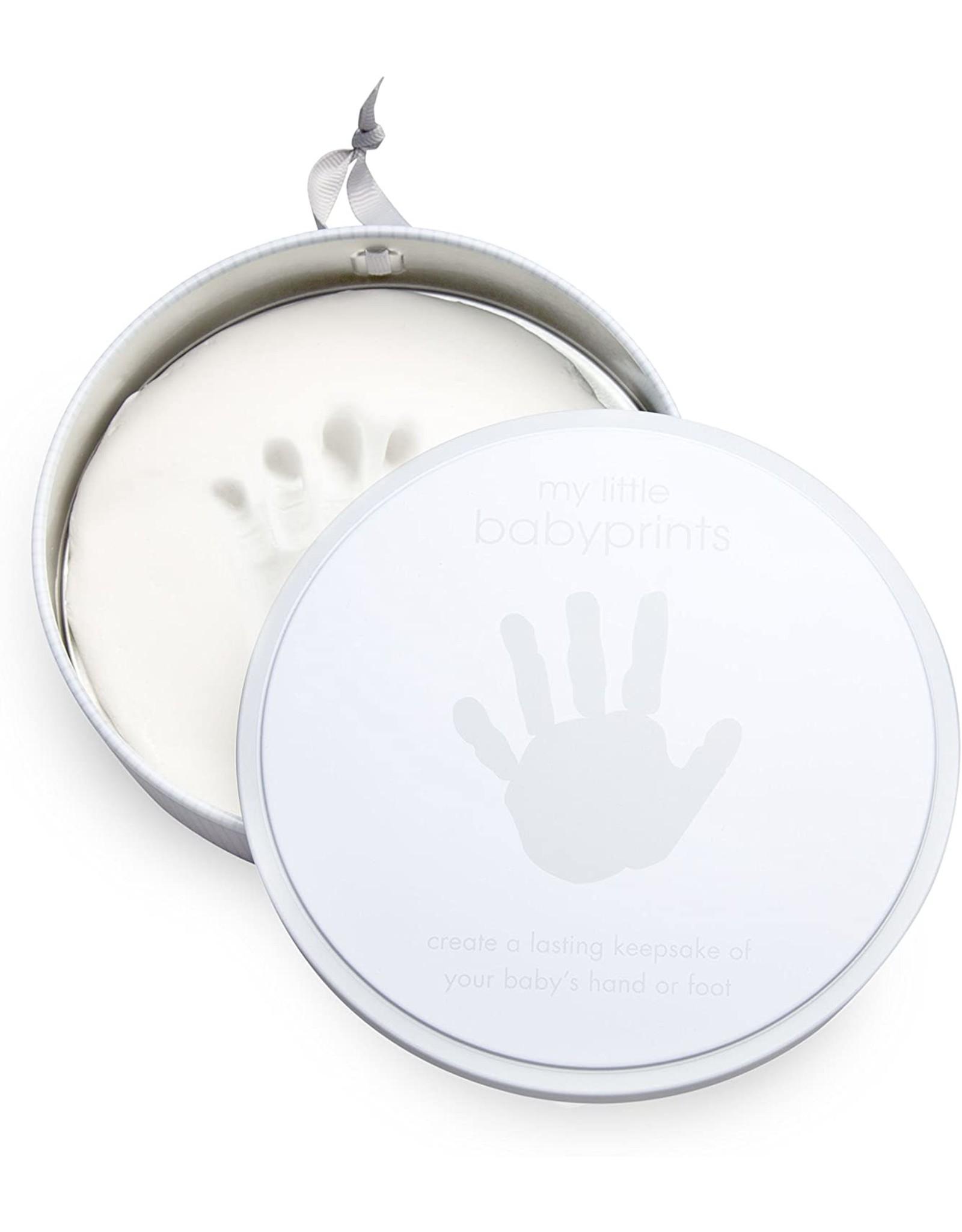 Pearhead Babyprints Tins, Grey