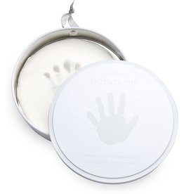 Pearhead Babyprints Tins, Grey