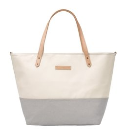 Petunia Pickle Bottom Petunia Pickle Bottom, Downtown Tote, Birch/Stone