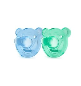Philips AVENT Philips Avent Soothie Shapes 0-3M, Blue/Green