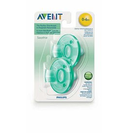 Philips AVENT Philips Avent Soothie 0-3M, 2 Pack, Green