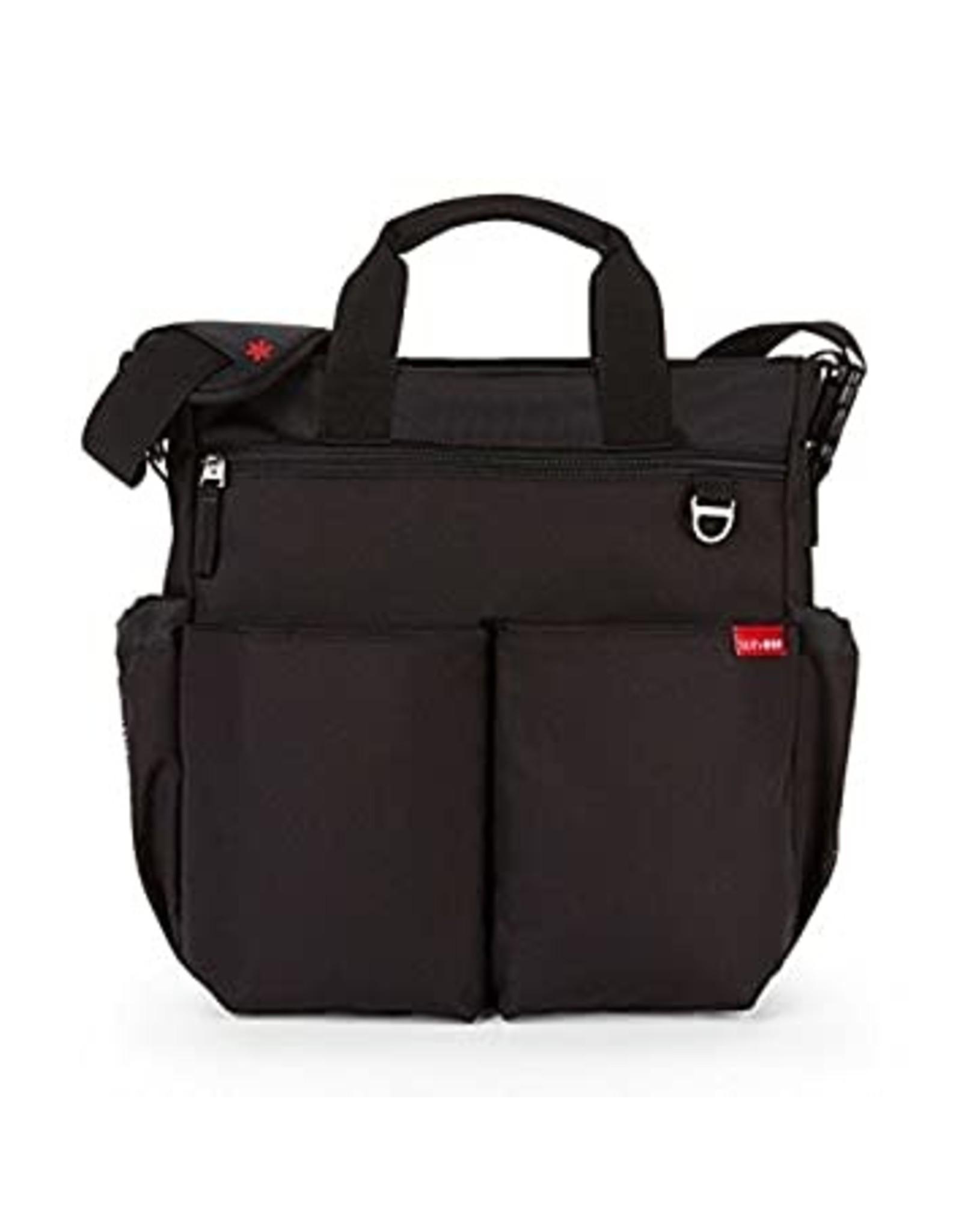 Skip Hop Duo Signature Diaper Bag, Black