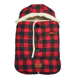 JJ Cole Car Seat Cover, Buffalo Check