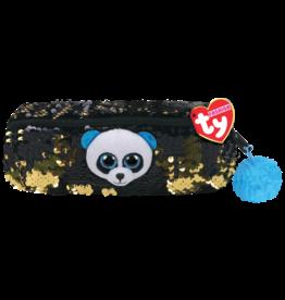 Ty Canada LLC TY Sequin Pencil Bag, Bamboo Panda