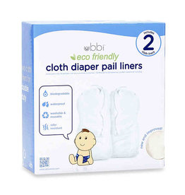 Ubbi Ubbi Cloth Diaper Pail Liner 2-Pack