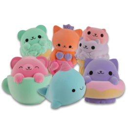 Orb Factory Soft N Slo Squishies, Velvet Assorted