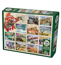 Cobble Hill 1000 Piece Greetings from Canada Puzzle